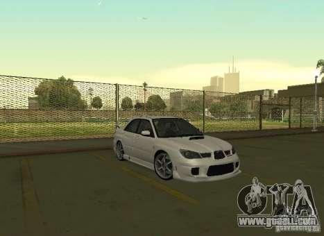 Subaru Impreza WRX STI-Street Racing for GTA San Andreas side view