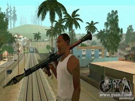 RPG of BF2 for GTA San Andreas
