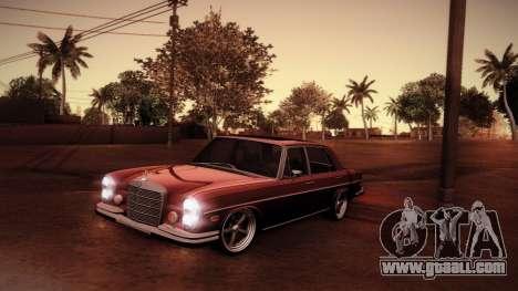Mercedes Benz 300 SEL - Custom RC3D Edit for GTA San Andreas upper view