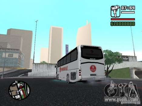 Neoplan Tourliner for GTA San Andreas left view