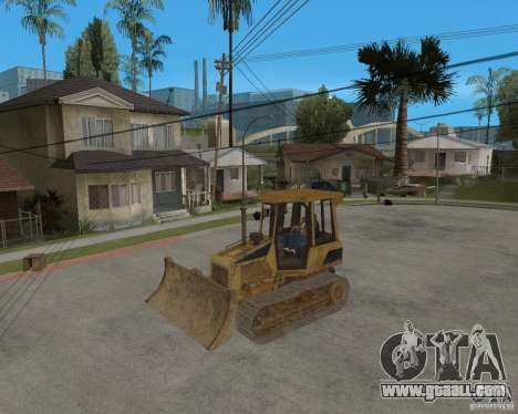 Bulldozer from COD 4 MW for GTA San Andreas inner view