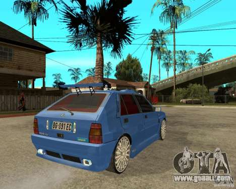 Lancia Delta Sparco for GTA San Andreas back left view