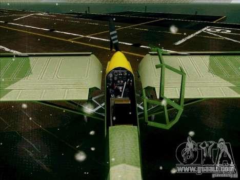 Fi-156 for GTA San Andreas inner view