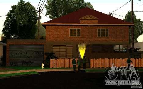 New home on Grove Street CJ for GTA San Andreas third screenshot