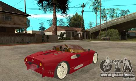 Spyker C8 Spyder for GTA San Andreas right view