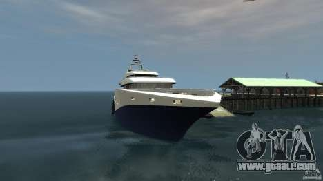 Yacht v1 for GTA 4 second screenshot