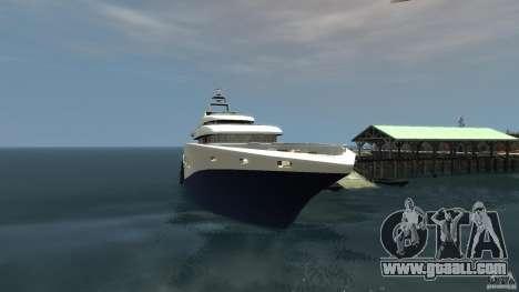 Yacht v1 for GTA 4 left view