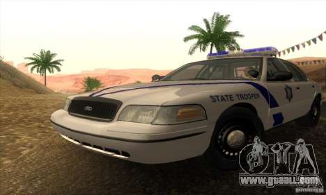 Ford Crown Victoria Arkansas Police for GTA San Andreas