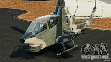 Bell AH-1 Cobra for GTA 4