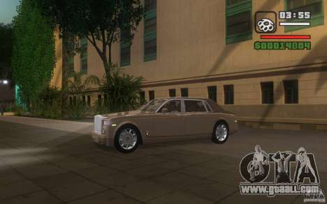 Rolls-Royce Phantom EWB for GTA San Andreas inner view