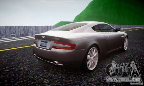 Aston Martin DB9 2005 V 1.5 for GTA 4 right view