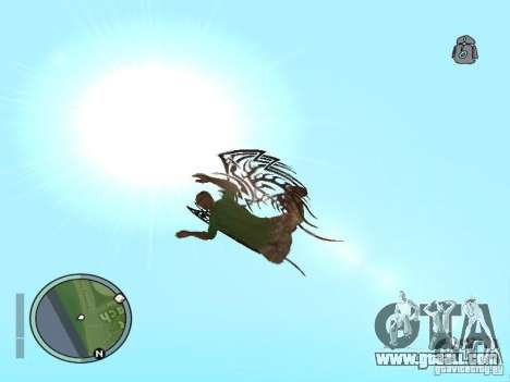 Wings-Wings for GTA San Andreas forth screenshot