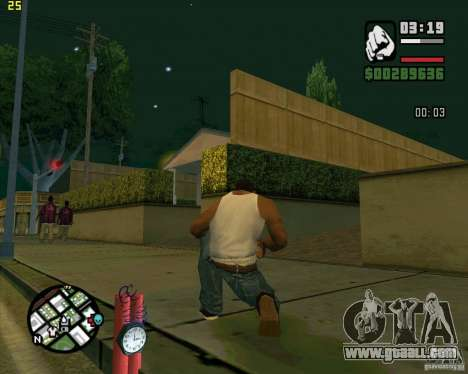 Dynamite for GTA San Andreas forth screenshot