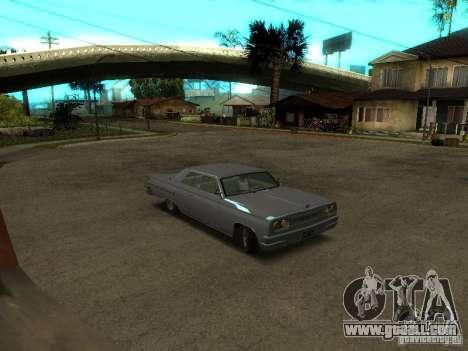 Voodoo in GTA IV for GTA San Andreas left view