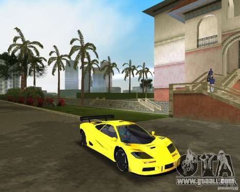 McLaren F1 LM for GTA Vice City right view