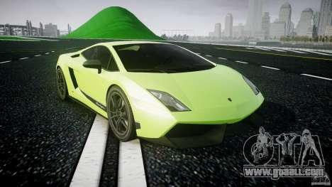 Lamborghini Gallardo LP570-4 Superleggera 2010 for GTA 4 back view