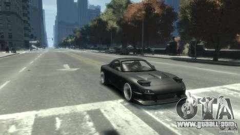 Mazda RX-7 FD3s for GTA 4 right view