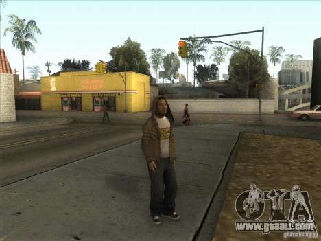 Ryo NFS PS for GTA San Andreas second screenshot