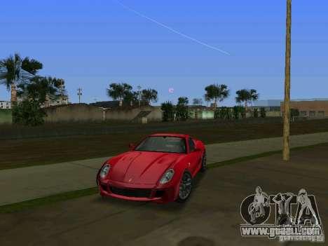 Ferrari 599 GTB for GTA Vice City left view