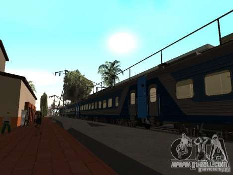 RAILWAY mod IV final for GTA San Andreas seventh screenshot