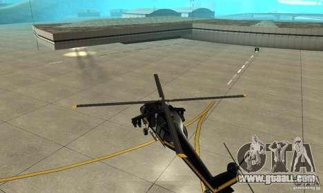 Annihilator for GTA San Andreas back view