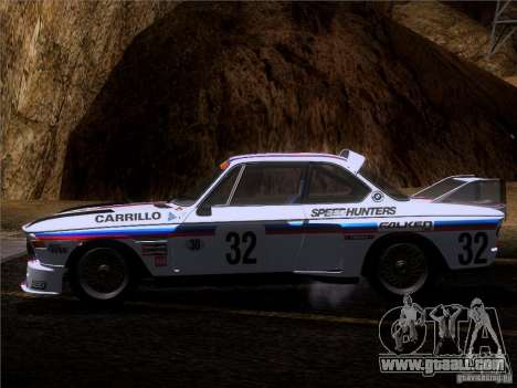 BMW CSL GR4 for GTA San Andreas upper view