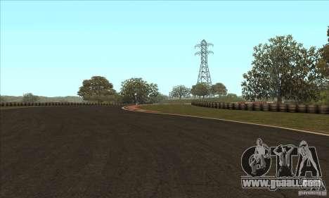 GOKART track Route 2 for GTA San Andreas sixth screenshot