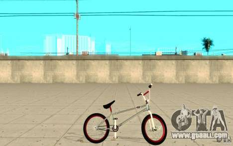 REAL Street BMX mod Chrome Edition for GTA San Andreas left view
