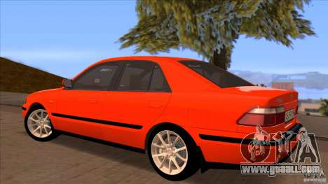 Mazda 626 Stock for GTA San Andreas inner view