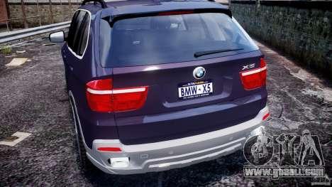 BMW X5 xDrive 4.8i 2009 v1.1 for GTA 4 bottom view