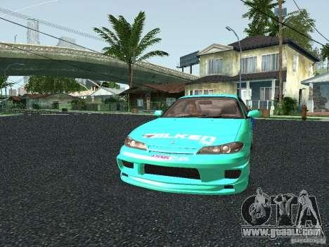 Nissan Silvia S15 Tunable for GTA San Andreas inner view