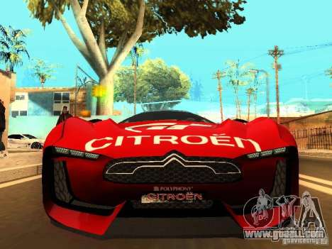Citroen GT Gran Turismo for GTA San Andreas left view