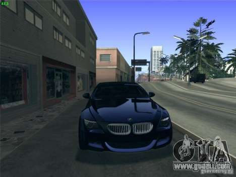BMW M6 2010 Coupe for GTA San Andreas