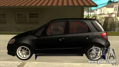 Suzuki SX4 Rally Tuning for GTA San Andreas left view