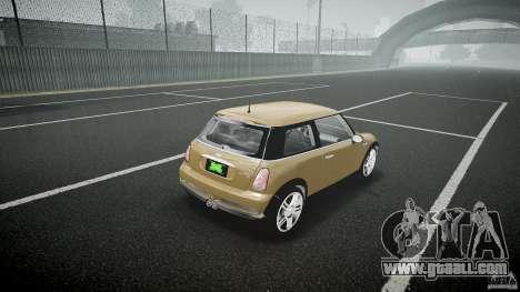 Mini Cooper S for GTA 4 side view