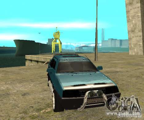 VAZ 21099 sparco tune for GTA San Andreas back left view