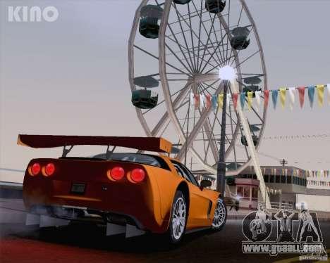 Chevrolet Corvette C6 Z06R GT3 v1.0.1 for GTA San Andreas left view