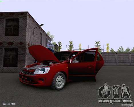 VAZ 2190 Drain for GTA San Andreas right view