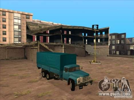 ZIL-133GÂ for GTA San Andreas right view