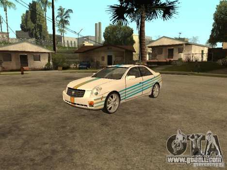 Cadillac CTS for GTA San Andreas side view