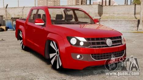 Volkswagen Amarok 2.0 TDi AWD Trendline 2012 for GTA 4