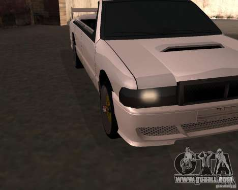 Taxi Cabriolet for GTA San Andreas left view