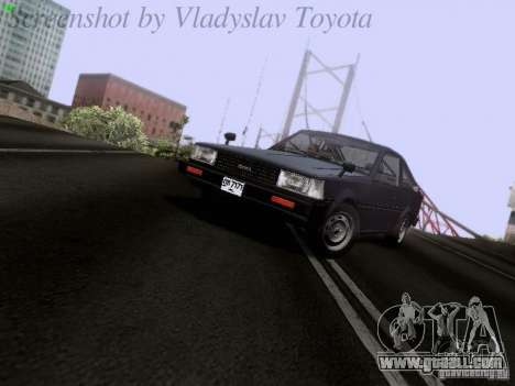 Toyota Corolla TE71 Coupe for GTA San Andreas left view