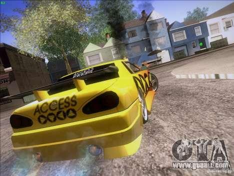 Elegy Cabrio Edition for GTA San Andreas side view