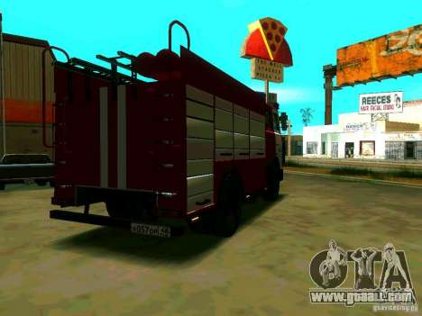 MAZ 533702 AC-2, 5-40 for GTA San Andreas back left view