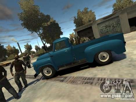 Gaz 52 HotRod for GTA 4 left view