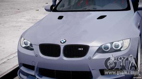 BMW M3 Hamann E92 for GTA 4 wheels