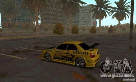 NFS Most Wanted - Paradise for GTA San Andreas forth screenshot