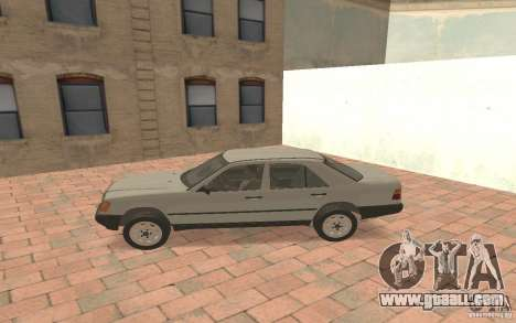 Mercedes-Benz E200 W124 for GTA San Andreas left view
