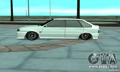 ВАЗ 2114 Tuning for GTA San Andreas left view